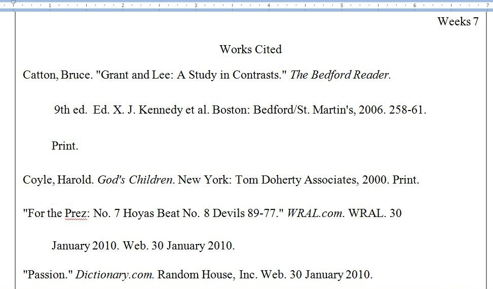 auto mla website citation