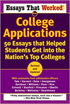 College application essays that worked