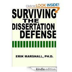 Dissertation defense advice
