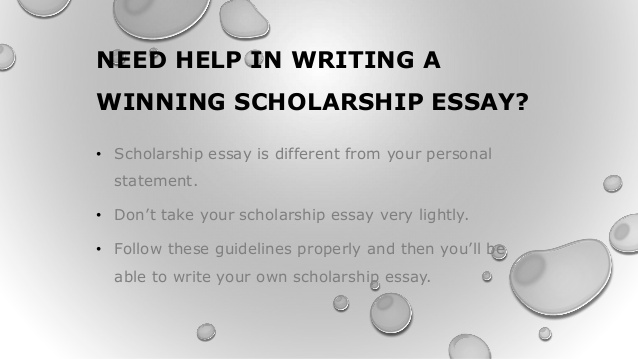 Need help on essay writing