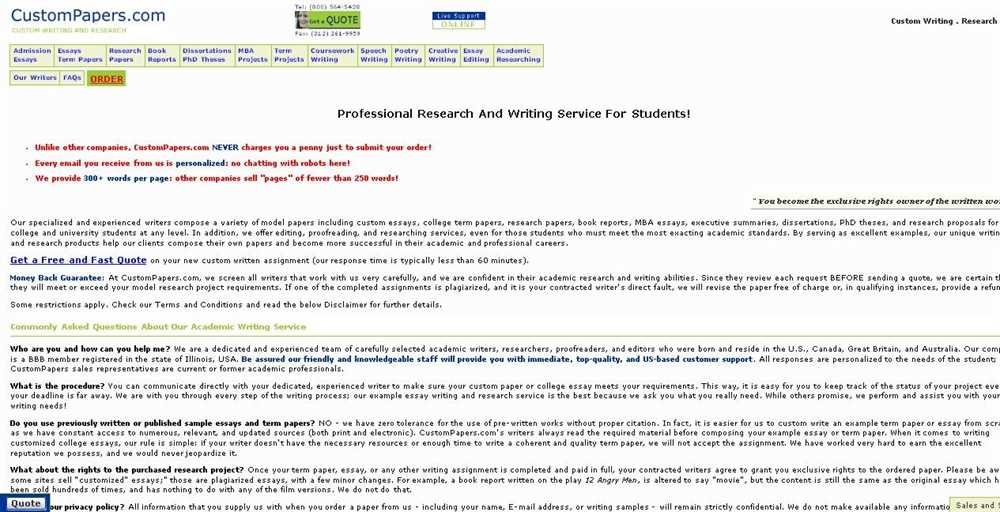 Review of essay writing companies